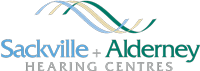 Sackville and Alderney Hearing Centres logo