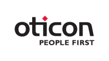 Oticon People First logo